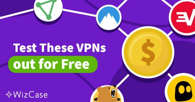 Prøv de 5 Beste VPN-ene i 2020 Risikofritt Med Gratis Prøveperiode